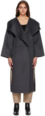 Totême SSENSE Exclusive Grey Annecy Coat