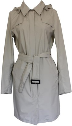 Herno Beige Cotton Trench Coat for Women