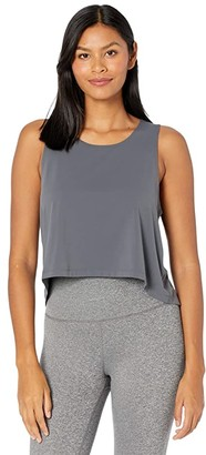 Manduka Root to Rise Tank (New Grey) Women's Clothing