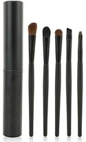 Aisxle 5 Piece Eye Makeup Brush Kit - Beauty and Travel Set - All In One - Soft Bristles and Easy to Carry - Easy to Use - Professional Eyeshadow Brush Makeup Kit - Full Set of Eye Brushes Whenever You Need Them - Perfect for Smokey Eye and More - Satisfaction Guaranteed