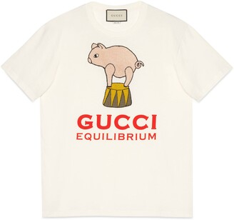 Gucci Equilibrium oversize T-shirt