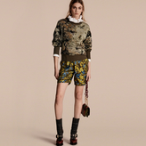 Burberry Floral Silk Pyjama-style Shorts