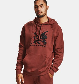 Under Armour Men's UA Rival Fleece Box Logo Hoodie