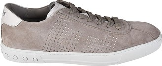 Tod's Perforated Low Top Sneakers