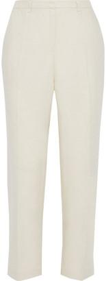 Iris & Ink Cholla Linen-twill Straight-leg Pants