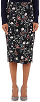 A.L.C. Women's Daniels Wrap-Front Midi-Skirt-Black Size 2