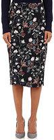 A.L.C. Women's Daniels Wrap-Front Midi-Skirt-Black Size 6