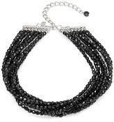 Kenneth Jay Lane Layered Beaded Choker Necklace
