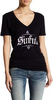Affliction Angel Wings V-Neck Tee