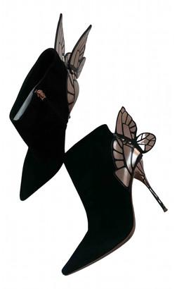 Sophia Webster Black Suede Boots