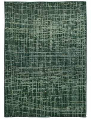 "Pantone Universe Expressions Abstract Green Area Rug Universe Rug Size: Runner 2'7"" x 10'"