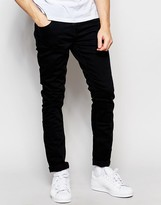 Scotch & Soda Skinny Jeans In Black Wash