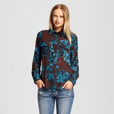 Who What Wear Women's Button Up Blouse