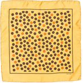 Tom Ford Silk Polka Dot Pocket Square