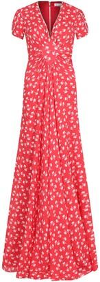 Libelula Long Jessie Dress Red Hiawatha Print
