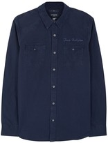 True Religion Navy Cotton Shirt