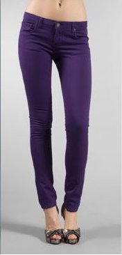 The Unknown Factory Purple Skinny with Robocop Pocket Jean