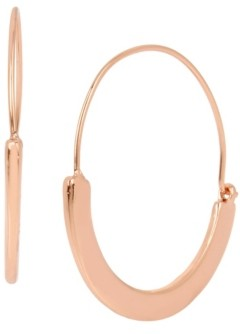 Kenneth Cole New York Sculptural Wire Hoop Earring