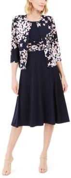 Jessica Howard Floral Jacket & Dress