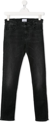 Givenchy Kids straight leg denim jeans