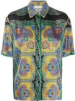 Sandro Paris paisley print shirt
