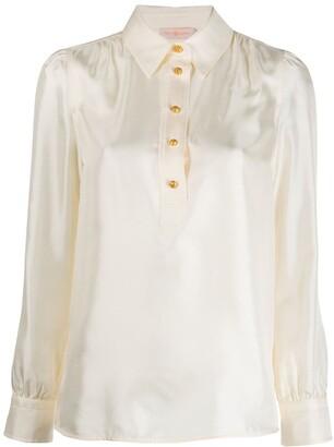 Tory Burch Buttoned Long-Sleeved Shirt