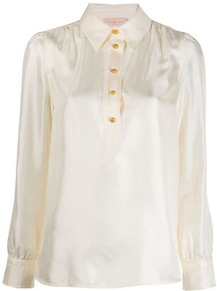 Tory Burch buttoned long-sleeved shirt