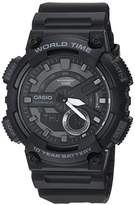 Casio Men's 'CLASSIC' Quartz Stainless Steel and Resin Casual Watch
