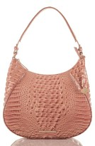Brahmin Amira Leather Shoulder Bag - Pink