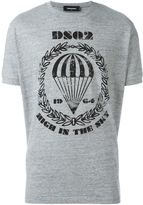 DSQUARED2 parachute crest T-shirt - men - Cotton - XXL