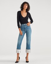 7 For All Mankind 7fam7 Luxe Vintage Sequin Boyfriend Jean in Muse