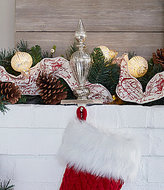 Southern Living Finial Stocking Holder