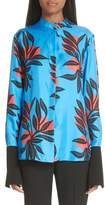 Roksanda Imani Floral Print Silk Shirt