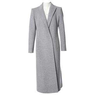 N. Non Signé / Unsigned Non Signe / Unsigned \N Grey Wool Coats
