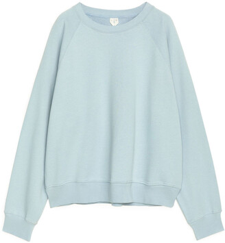 Arket Cropped French Terry Sweatshirt
