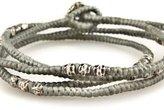 M. Cohen Thai Stamped Wrap Bracelet