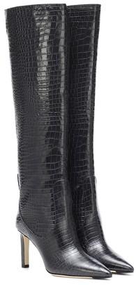 Jimmy Choo Mavis 85 knee-high leather boots