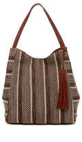 Lucky Brand Sari Large Woven Tote