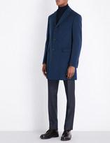 Corneliani Single-breasted wool coat