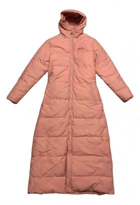 Ellesse Pink Polyester Coats