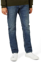 Topman Ripped Slim Fit Jeans