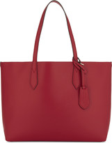 Burberry Haymarket check medium reversible leather tote