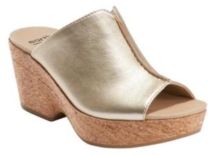 Earth Women's Khaya Kiki Cork Wedge Sandal Women's Shoes