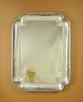 The Well Appointed House Carvers' Guild Big Double Cove Wall Mirror-Available in Two Different Finishes