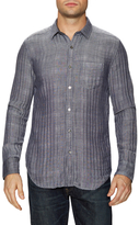 Gilded Age Herringbone Spread Collar Sportshirt