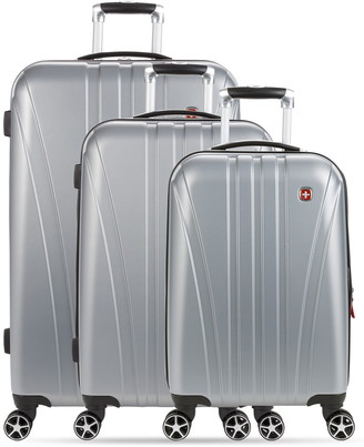 Swiss Gear Expandable Hardside Spinner Luggage 3-Piece Set