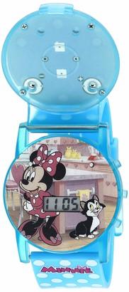 Disney Girls' Quartz Watch with Plastic Strap