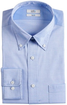 Croft & Barrow Men's Classic-Fit No-Iron Dress Shirt