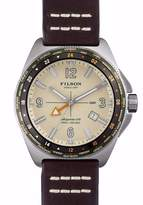 Filson Shinola Men's Journeyman GMT Scout Argonite 515 Watch F0110000318