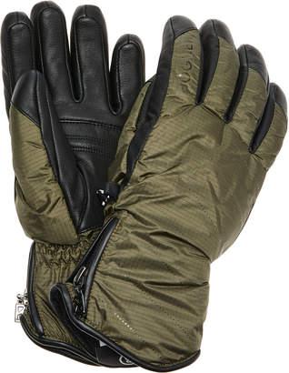 Bogner Baca Leather-Trimmed Ripstop Gloves